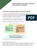 Estructura Del Deporte Español