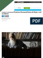 Pintor e ceramista Francisco Brennand brinca de ficção e realidade em diários - 03_12_2016 - Ilustrada - Folha de S