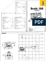 Technical Datasheet Brokk 160 (Long Arm)
