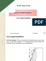 Gas Liquid Equilibria