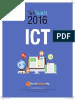 2016 TekTeach ICT Brochure