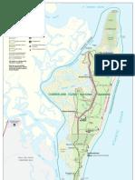 Cumberland Island Map (2007)