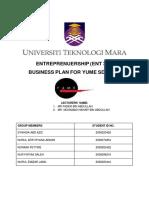 Yume Sdn Bhd - Sample Business Plan
