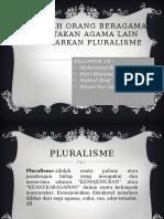Bolehkah Orang Beragama Menistakan Agama Lain Berdasarkan Pluralisme