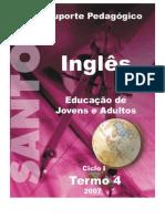 Apostila Inglês - Ensino Fundamental - T4 Student´s Book