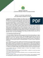 Edital Docentes IFB Retificado 5