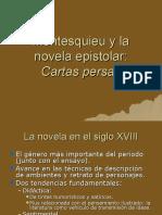 "Montesquieu y la novela epistolar - ""Cartas persas"""