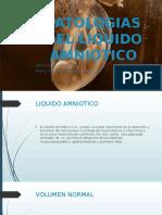 Patologias del liquido amniotico