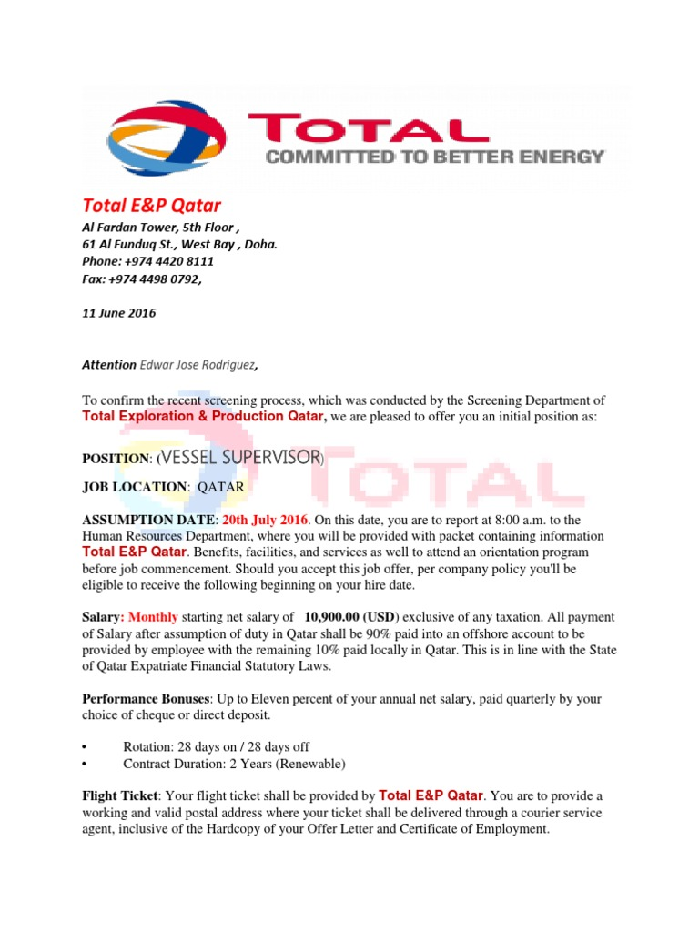 Total qatar employment contract terms edwar jose rodriguezpdf total qatar employment contract terms edwar jose rodriguezpdf qatar employment altavistaventures Images