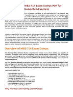 [Latest 2017] MB2-714 Exam Questions - MB2-714 Dumps PDF (Christmas offer on)