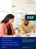Transportation Management System Implementation Guide