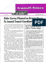 Transit Times Volume 8, Number 1