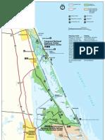 Cape Canaveral Park Map (2006)