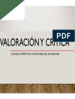 Valoracion critica