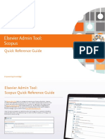 Elsevier Scopus Quick Reference Guide
