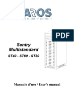 Ups Aros Sentry Multistandard 40 80 Kva Manuel | Power Supply