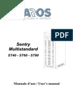 Ups Aros Sentry Multistandard 40 80 Kva Manuel