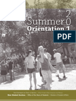 UT 2010 Summer Orientation Guide