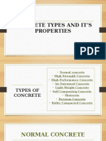 Concrete Types and It's Properties 2-1