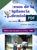 Procesos de La Vigilancia Epidemiologica