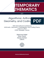 Stéphane Ballet,Marc Perret,Alexey Zaytsev (eds)-14th International Conference Arithmetic, Geometry, Cryptography and Coding Theory-American Mathematical Society (2015).pdf