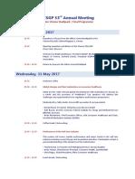 AESGP Programme Vienna 2017