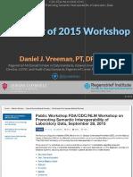2016 11 - FDA Workshop Recap