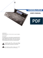 TC Helicon Voicelive2 Manual