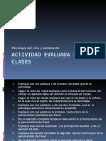 Actividad Evaluada en Clases