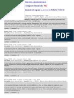 Simulado de Direito Administrativo - Cespe