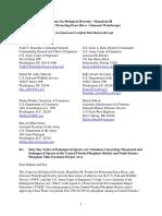 2016 AEIS and SPE NOI phosphate lawsuit - WMNF News