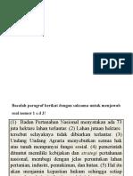 Rancangan Tugas UN Bahasa Indonesia [TIK]
