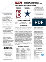 bearden farragut football game notes