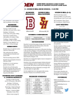 bearden science hill football game notes