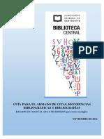 Guía 6th Ed. Para El Armado de Citas, Referencias Bibliográficas y Bibliografías (1)