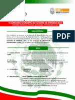 Convocatoria e Inscripcion Concurso de Escoltas 2014