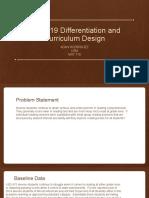 mat 719 differentiation and   curriculum design  final