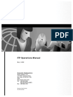 ITP Operations Guide
