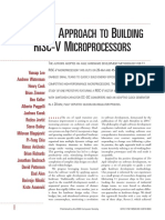 """An Agile Approach to Building RISC-V Microprocessors"""","""