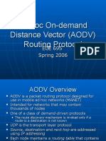 2006 AODV Group Presentation