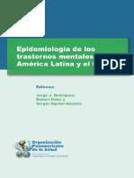Epidemiología de Los Transtornos Mentales en América Latina y El Caribe