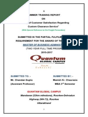 Custom Clearance Procedure PDF   Bill Of Lading   Invoice