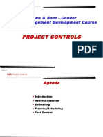 BRC Training Workshop - Project Controls Intro