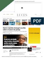 Marco Aurelio Denegri Escribe Sobre El Amor de Pareja _ Libros _ Luces _ El Comercio Peru