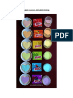 Rainbow Heart Sugar Cookies With Jell