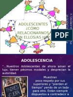 Taller Adolescencia Padres 2014