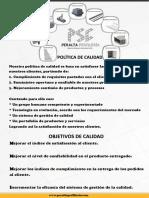 Poster Politica Peralta