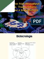 Aula Genoma ,Transcriptoma, e Dna Recombinante 2016[1]