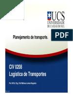 CIV0208 - 07 Planejamento de Transporte
