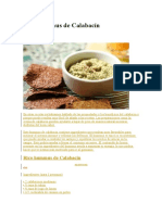 Rico Hummus de Calabacín